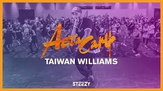 Taiwan Williams - Calm Down    2017 Asia Camp   STEEZY.CO