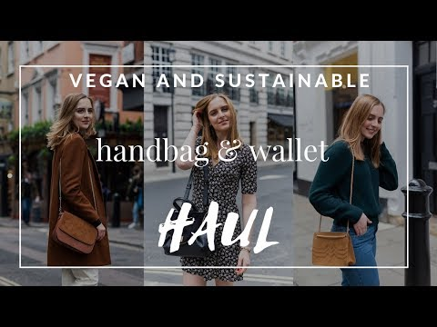VEGAN AND SUSTAINABLE BAGS & WALLET HAUL | Marta Canga