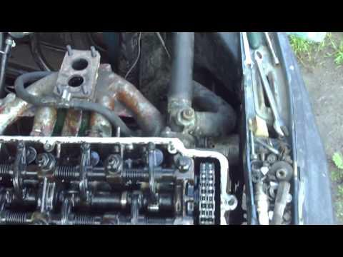 Пробило прокладку ГБЦ на москвиче с мотором УЗАМ