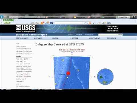 Earthquake Watch...Alert!!!   7.6 in  Kermadec Islands  possible 2