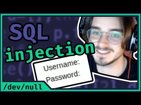 LET'S HACK SQL INJECTION  | IT Security /w Zanidd