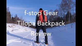 f-stop gear Tilopa - THE Adventure Photography Backpack