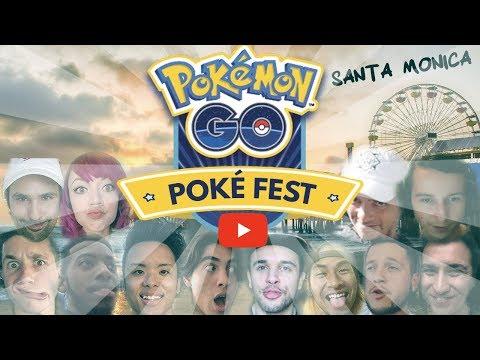 SANTA MONICA POKEFEST 2018 // YOUTUBER EDITION // POKEMON GO