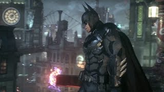 Arkham Knight Gameplay - New Gameplay with Fear Takedowns, Interrogation