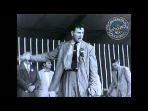 Oral Roberts.Circa 1950s.