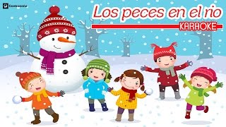 Los Peces En El Rio Villancico Karaoke, Feliz Navidad, Christmas Instrumental Para Bailar y Cantar