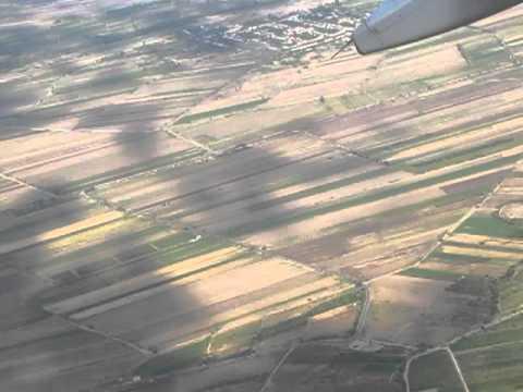 Yerevan-Moscow A-320 Take-off / Ереван-Москва Звартноц взлет А-320