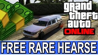 How to get the Hearse in GTA 5 online next gen