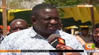 Waziri wa maji Eugene Wamalwa azuru kaunti ya Kwale