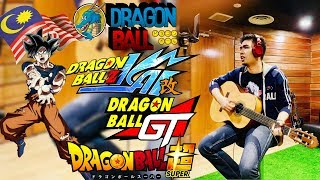 Dragon Ball Songs Medley (Malay Cover) by Colek Kepok