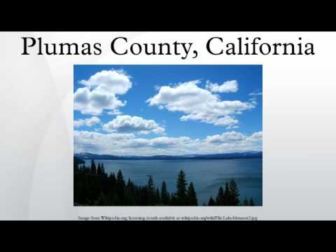 Plumas County, California