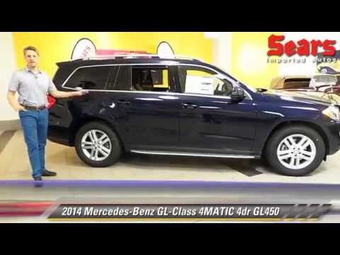 New 2014 mercedes benz gl class 4matic gl450 minnetonka for Mercedes benz bloomington mn