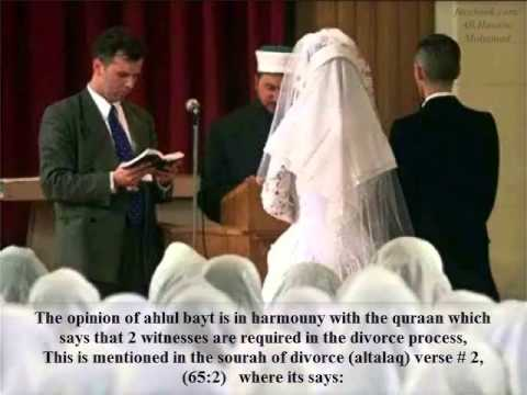Temporary Marriage in Islam (9/9) Misconceptions about Muta & How to do Muta marriage