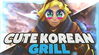C9 Sneaky | Cute Korean Grill Ezreal Gameplay?