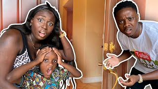 Someone Broke Into Our House *Caught On Camera*