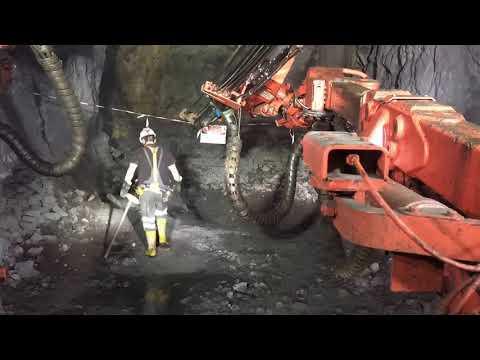 Underground jumbo drilling time - laps