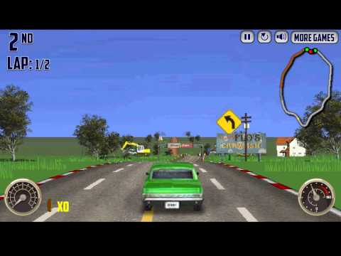V8 Muscle Cars oldschool 🏎️ online racing game