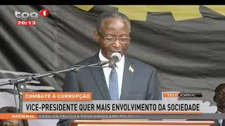 Combate à Corrupção - Vice.presidente quer mais envolvimento da sociedade