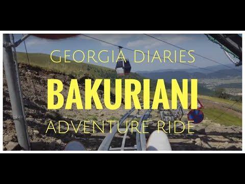 Travel Diaries - Bakuriani Adventure Ride in Georgia (Europe)