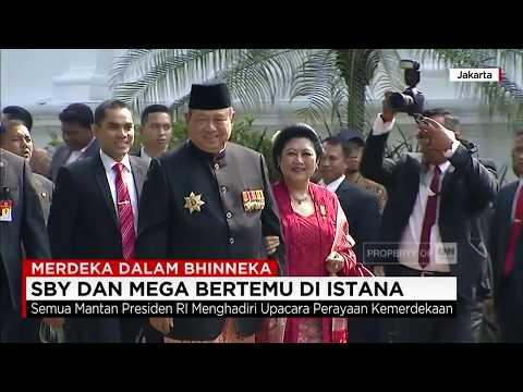 Akhirnya! SBY & Mega Bertemu di Istana - Merdeka dalam Bhinneka