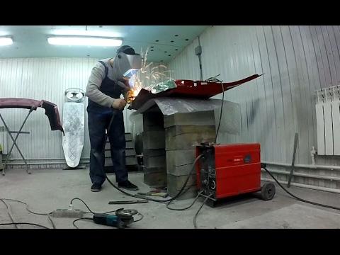 Dodge Caliber часть 8. Ремонт дверей. Body repair.