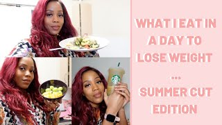 WHAT I EAT IN A DAY TO LOSE WEIGHT FEAT YOYO FIT