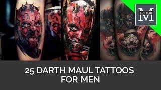 25 Darth Maul Tattoos For Men