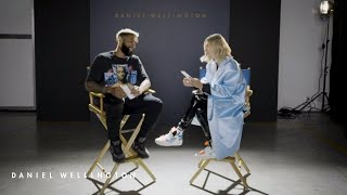 Iconic Questions with OBJ and Hailey Bieber - Daniel Wellington