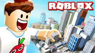 Building My Own Roblox City! (City Architect)