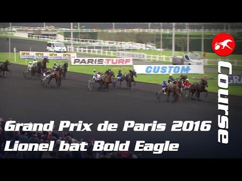 Grand Prix De Paris 2016 - La Course : Lionel Domine Bold Eagle