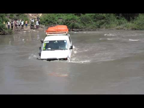 River crossing in South Sudan