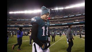 Emotional Josh McCown reflects on Eagles season