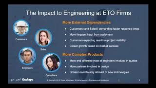 Engineer-to-Order Best Practices: New Technologies Improve Engineering Effectiveness | Webinar
