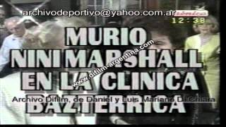 DiFilm - Murio Nini Marshall Cronica TV (1996)