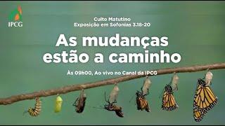 CULTO MATUTINO  - 20/06/2021