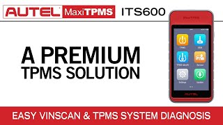 Autel MaxiTPMS ITS600 - Introduction (Intelligent TPMS & Tire Service)
