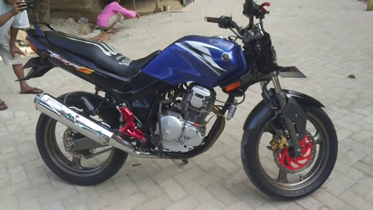 Review Modifikasi Yamaha Scorpio 2006 Kekar Bro