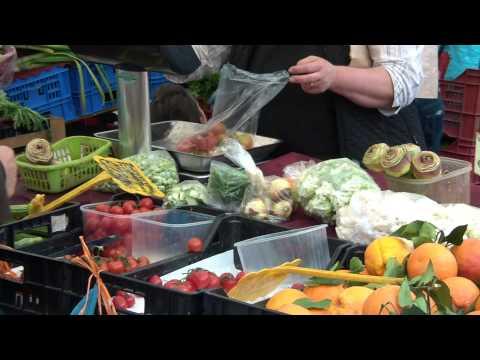 Campo de' Fiori Food Market, Rome Street Market, Italian Food!