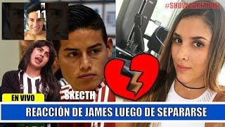 Reacción de James luego de su separación, le dedica canción a Daniela Ospina | JHON CUELLAR