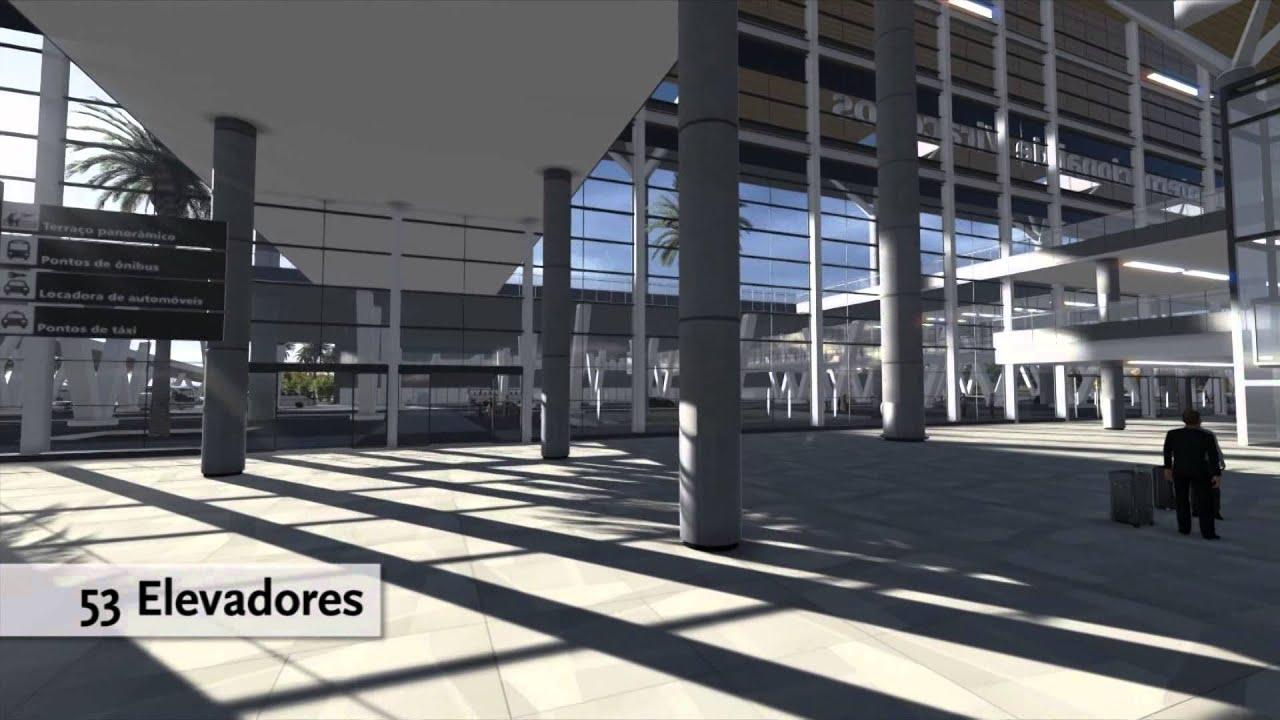 Aeroporto Viracopos : Aeroporto de viracopos maquete eletrônica youtube