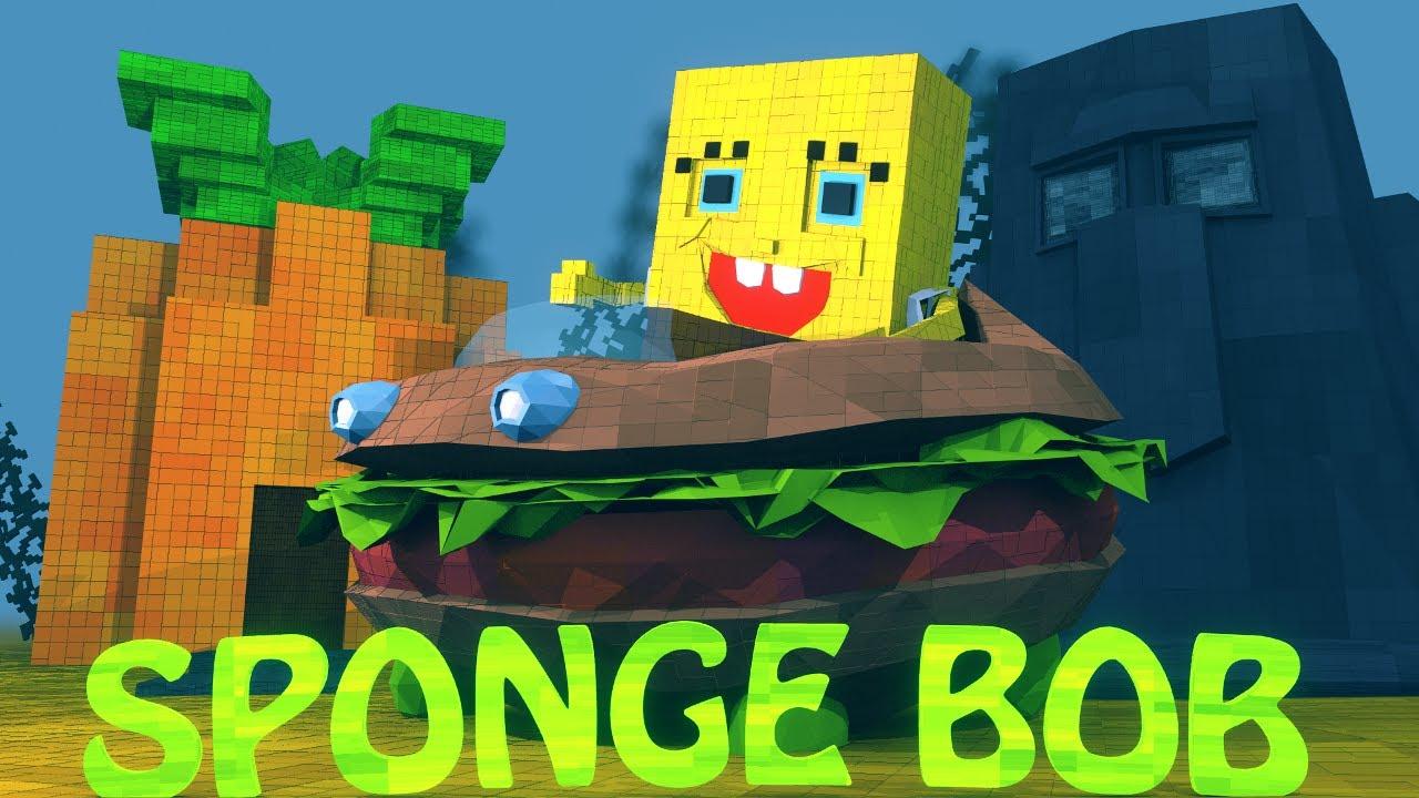 how to get minecraft spongebob mod