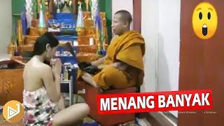 MENANG BANYAK!!  Budaya WANITA THAILAND Pergi ke DUKUN Agar  CANTIK #junaway