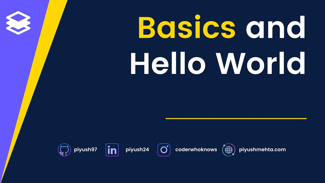 Learn Full Stack Development by developing a SaaS startup!| Hello world and other setup#2