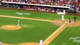 Ryan Howard Drives In Two Runs vs Cardinals 2011 NLDS Game 2