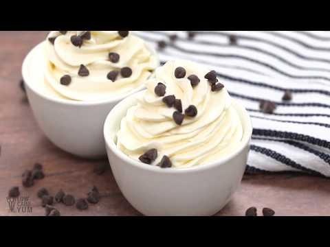 Sugar Free Cheesecake Keto Mousse