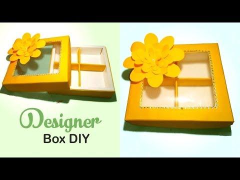 Gift Box Diy   Dry Fruits and Chocolate Gift Box   Beautiful Valentines Gift Box diy   Tuber Tip