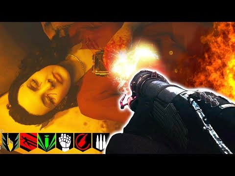 """THE SHADOWED THRONE"" FULL EASTER EGG WALKTHROUGH HUNT!! | CALL OF DUTY: WW2 DLC2 | ZOMBIES!"