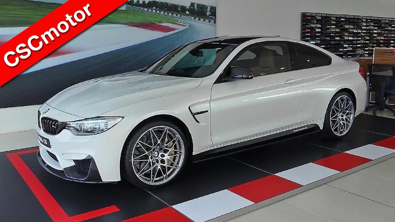 BMW M4 CS - 2017   Revisión en profundidad y encendido