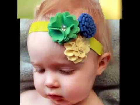 Baby Headbands Online India | Hair Accessories | Flower Hair Clips & Hair Bows