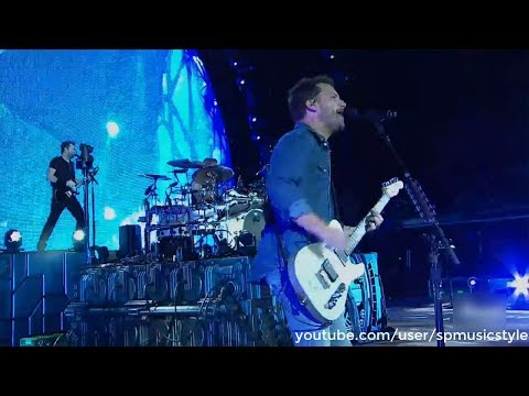 Nickelback - Gotta Be Somebody - AXS TV 'Red Rocks Amphitheatre' 2017